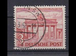 Berlin 59 Berliner Bauten (I) 3 DM gestempelt /6