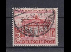 Berlin 59 Berliner Bauten (I) 3 DM gestempelt /7 Charlottenburg