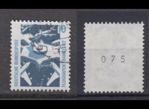 Bund 1347 A RM mit ungerader Nummer SWK 10 Pf gestempelt