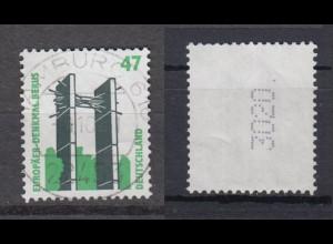 Bund 1932 RM mit gerader Nummer und Punkt 4stellig SWK 47 Pf gestempelt