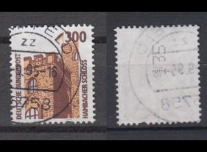 Bund 1348 A RM mit senkrechter ungerader Nummer SWK 300 Pf gestempelt /1
