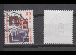 Bund 2140 RM mit gerader neuer Nr. 3 stellig SWK 110 Pf/0,56 C gestempelt /3