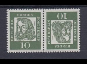 Bund 347 Zusammendruck K 3 Bedeutende Deutsche 5 Pf postfrisch