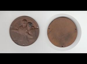 Medaille Plakette Autoplakette ADAC Kriegsbeschädigten Fahrt /M1