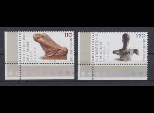 Bund 2063-2064 Eckrand links unten Kulturstiftung Ernst Barlach 100 + 220 Pf **