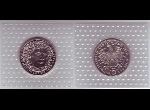 Münze 5 DM 1983 G Martin Luther polierte Platte /37