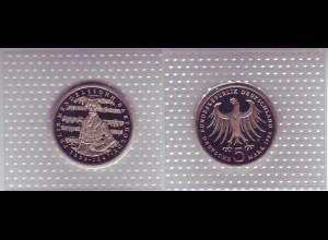 Münze 5 DM 1984 J Mendelssohn Bartholdy polierte Platte /39