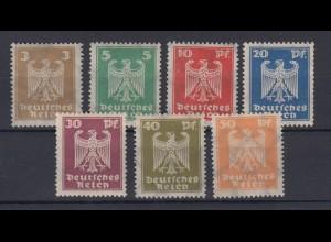 Deutsches Reich 355x - 361x Neuer Reichsadler kompletter Satz postfrisch