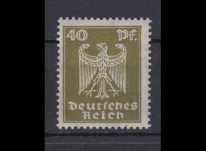Dt. Reich 360x Neuer Reichsadler 40 Pf postfrisch