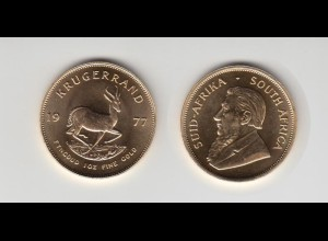 Goldmünze Südafrika Krügerrand 1 OZ 1977
