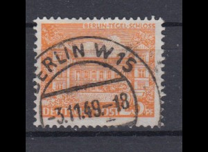 Berlin 50 Berliner Bauten (I) 25 Pf gestempelt /1