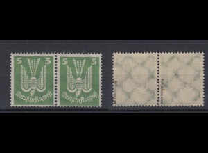 Deutsches Reich 344 y Paar Flugpostmarke 5 Pf postfrisch geprüft Schlegel