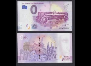 0 Euro Souvenir Schein XE AW 2018-2 DE Brutus
