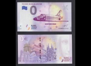 0 Euro Souvenir Schein XE BM 2019-2 DE Raumfähre Buran