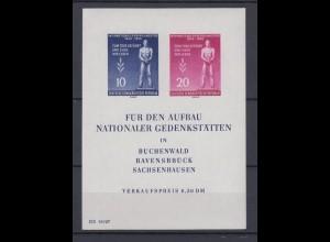 DDR Block 11 Tag der Befreiung vom Faschismus postfrisch