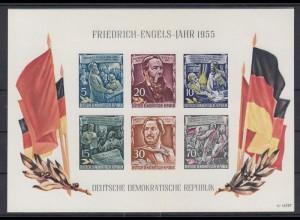 DDR Block 13 Friedrich Engels Jahr 1955 postfrisch