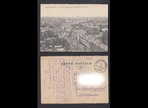 Ansichtskarte Armentieres mit Feldpoststempel