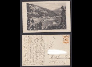 Ansichtskarte Zell am Ziller 1928