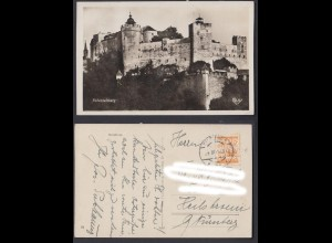 Ansichtskarte Hohensalzburg Nordfront 1929