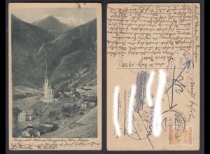 Ansichtskarte Heiligenblut mit Grossglockner Kärnten 1928