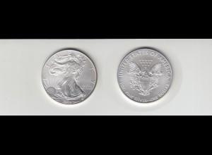 Silbermünze 1 OZ USA Liberty 1 Dollar 2009