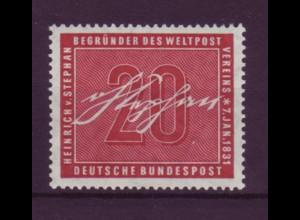 Bund 227 Heinrich von Stephan 20 Pf postfrisch