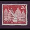 Bund 230 1000 Jahre Lüneburg 20 Pf postfrisch