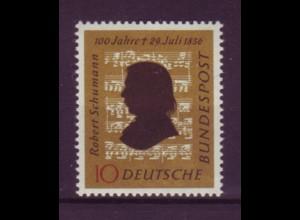 Bund 234 100. Todestag Robert Schumann 10 Pf postfrisch
