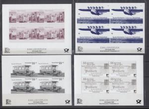 Jahresgabe 6x Exklusivdruck 2003-2008 Bund Deutscher Philatelisten
