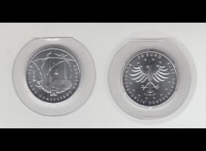 Silbermünze 20 Euro 2018 800 Jahre Hanststadt Rostock stempelglanz