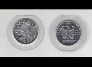 Silbermünze 20 Euro 2019 100 Jahre Bauhaus stempelglanz