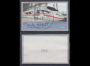 Bund 2567 SELBSTKLEBEND RM mit ungerader Nummer InterCityExpress 55+ 25 Cent