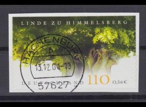 Bund 2217 SELBSTKLEBEND aus MH 45 Naturdenkmäler in Deutschland 56 C gestempelt