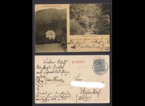 Ansichtskarte Gruss aus Bad Wildstein b. Trarbach Hotel Erholung 1904