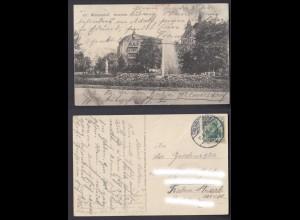 Ansichtskarte Wilmersdorf Kaiserplatz gestempelt 1912