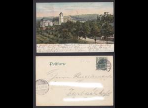 Ansichtskarte Boppard am Rhein Marienberg gestempelt Traben-Trarbach 1907