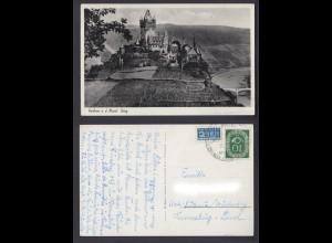 Ansichtskarte Cochem an der Mosel mit Burg