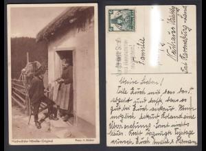 Ansichtskarte Hochwälder Händler Original Stempel Koblenz Vergiß nicht Straße