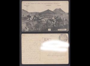 Feldpostkarte 1. WK In den Vogesen bei Lubine Saal und Provencheres Frankreich