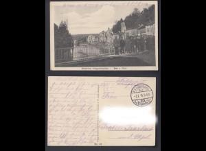 Feldpostkarte 1. WK Westlicher Kriegsschauplatz Dun a. Maas Frankreich 1915