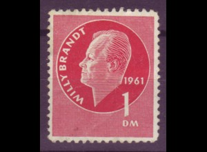 Vignette Willy Brandt 1 DM 1961