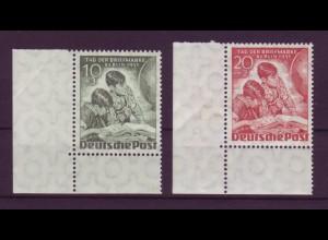 Berlin 80-81 Eckrand links unten Tag der Briefmarke 10+ 3 + 20+ 2 Pf postfrisch