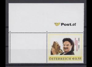 Österreich Briefmarke Rudoph Mooshammer Eckrand 55 C postfrisch 2005