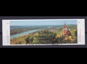 Bund 3517-3518 SELBSTKLEBEND aus FB 96 Bonn Siebengebirge 60 Cent EST Bonn
