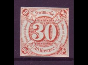 Thurn und Taxis Mi.Nr. 25 Ziffern 30 Kreuzer postfrisch