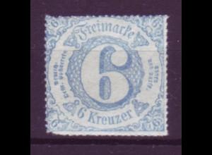 Thurn und Taxis Mi.Nr. 43 Ziffern 6 Sgr postfrisch