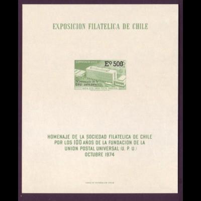 Chile 796 Exposicion Filatelica de Chile Oktober 1974
