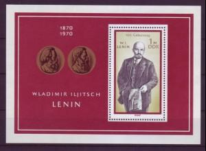 DDR Block 31 Wladimir Iljitsch Lenin 1 M postfrisch