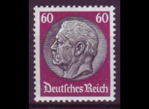 Deutsches Reich 493 Paul von Hindenburg 60 Pf postfrisch