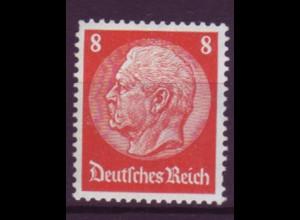 Deutsches Reich 485 Paul von Hindenburg 8 Pf postfrisch